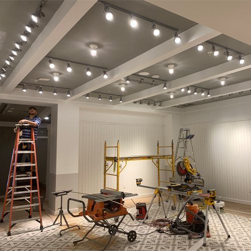 lighting installation in retail store Columbia SC
