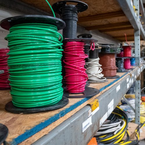 While installing new appliances or upgrading service panels, you may find problems with sections of electrical wiring throughout the property.