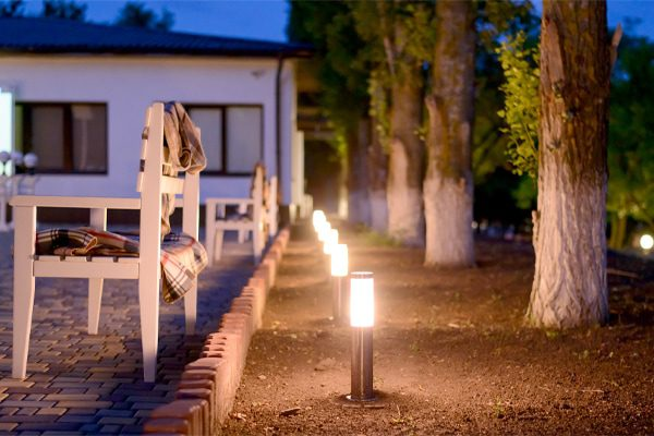 LED lights are the most popular lights to use both indoors and outdoors.