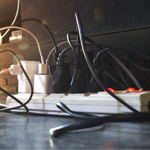 nearly 3,300 home fires can be sourced to extension cords each year.