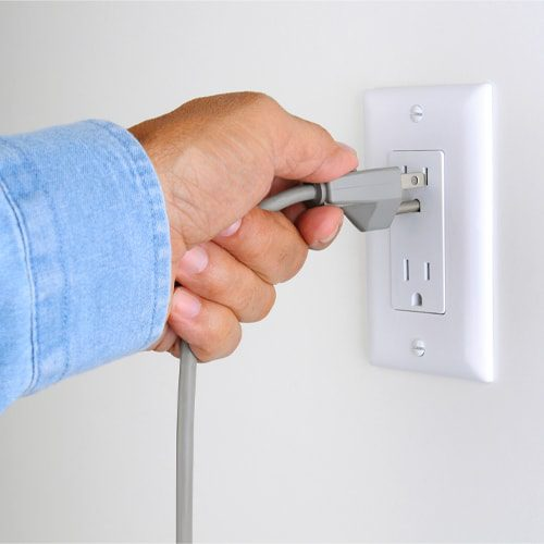 Phantom energy draws happen when you leave devices or appliances plugged in even when they are not in use.