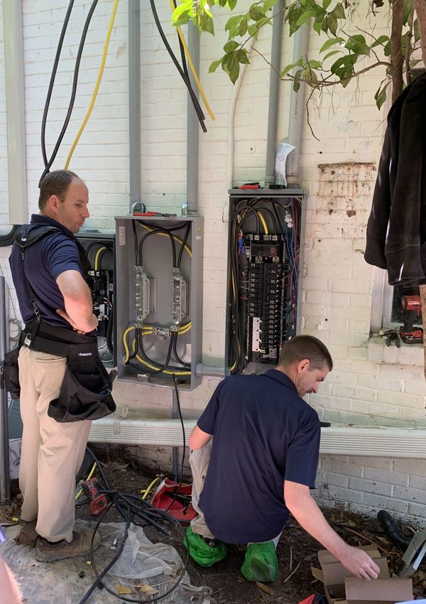 Electrical panel replacement in Columbia SC