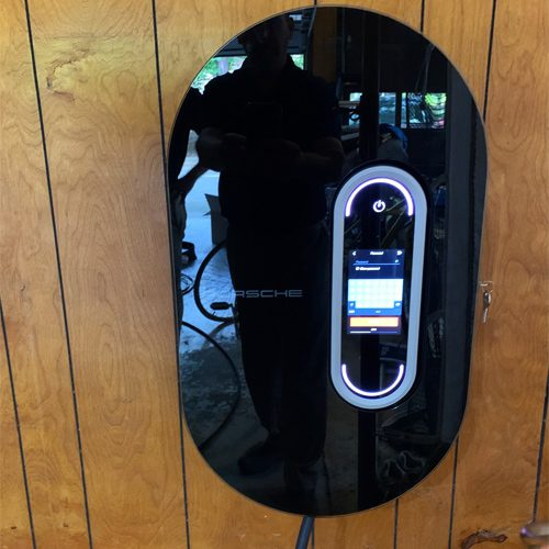 EV charging station installed in columbia sc home