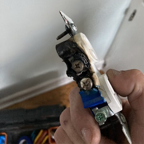 Home electrical inspection finds fire risk in Columbia sc