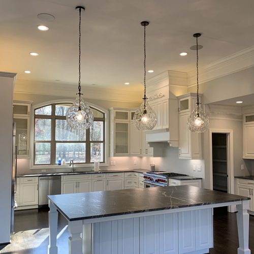 Kitchen lighting installation by rytec electric